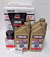 Yamaha Snowmobile SR Viper LTX RTX 0W40 Full Syn Oil Change Kit LUB-SMBCG-KT-25