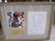 Andrew McCutchen Pittsburgh Pirates Autographed/Signed Drawing 1/1 One of a Kind