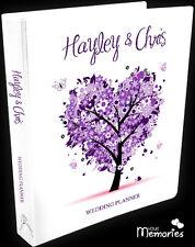 Wedding Planner/ pretty in purple /Diary/Organiser/Engagement Present