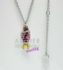 Swarovski 5533742 Mustique Sea Life Fish Pendant, Small Pink Crystal MIB