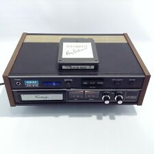 Vintage Akai 8-Track Stereo Cartridge Recorder Model Cr-81D + Roy Orbison Tape