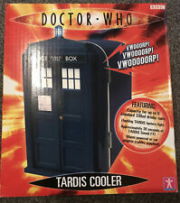 More details for doctor dr. who tardis cooler 6 330ml can mini fridge rare sound fx collectable