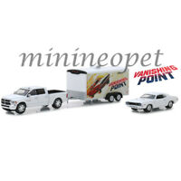 GREENLIGHT 31070 B HITCH & TOW VANISHING POINT DODGE RAM & CHALLENGER 1/64 SET