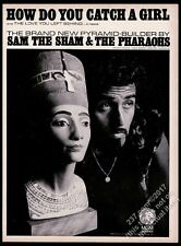 1966 Sam the Sham photo How Do You Catch A Girl song release trade ad