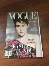 Vogue Magazine NOV 2018 Claire Foy US Vogue