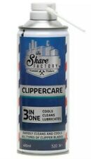 SHAVE FACTORY HAIR CLIPPER SPRAY CLIPPERCIDE 3IN1 COOLS CLEANS LUBRICATES
