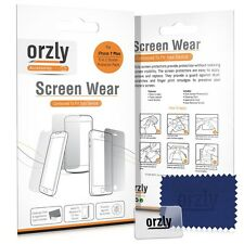 Orzly Crystal Clear 5 in 1 Plastic Screen Protector for iPhone 7 Plus, 8 Plus
