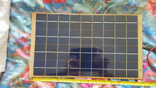Solar panel Keep car boat caravan motohome battery charged when being stored