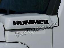 H2 HUMMER H3 HUMMER Decals/Stickers 4 Decals (fits:Hummer H3)
