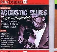 ACOUSTIC BLUES / ROBIN TROWER CD GUITAR TECHNIQUES 161 2009