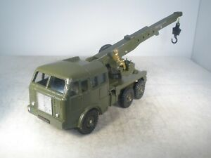 Dinky Toys Military Army BERLIET CRANE TRUCK FRENCH DINKY #826