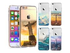 NEW Transparent Scenery Art CLEAR/TPU/Hard Cover Case for iPhone Samsung range