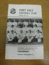 28/08/1971 Port Vale v Chesterfield  (Light Crease). Thanks for viewing this ite