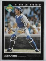 1993 Pinnacle Mike Piazza Rookie Prospect Card No. 252