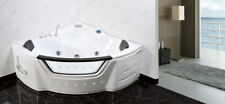 1500mm 20 Jet Whirlpool Bath Shower Air Spa Jacuzzis Massage Corner 2 person tub