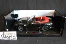 Hot Wheels Elite built transkit Ferrari 599 GTO Cabriolet 1:18 black (PJBB)