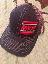 New Blue Red Ball Cap Adjustable Mvp Logo