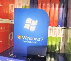MICROSOFT WINDOWS 7 PROFESSIONAL (USED) 32/64-BIT DVD FQC-00133 100% GENUINE UK