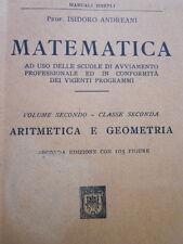 Andreani-Matematica. Aritmetica e geometria.Volume secondo,classe seconda-Hoepli