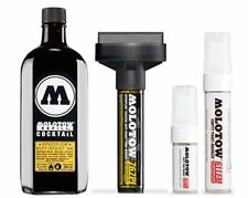 MOLOTOW SPEEDFLOW SET - 250ML INK, 3 MARKERS PLUS 20MM SPARE NIB!