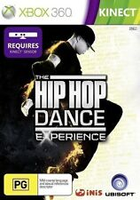 Hip Hop Dance Experience game for Xbox 360 *NEW AUSSIE* Kinect dancing rap music