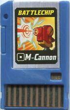 Capcom Mega Man Japanese PET M-Cannon Battle Chip #003