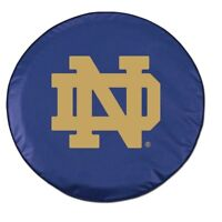 NCAA - Notre Dame (ND) Tire Cover College Team Logo