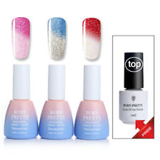 Buy 3 Get 1 Free Shimmer Thermal UV Gellack Topcoat Nagellack Nailart Maniküre