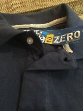 Kids navy long sleeve Polo (new)Size L