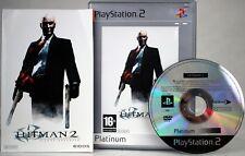 Hitman 2: Silent Assassin   PlayStation 2   PS2   PAL   Complete   Platinum