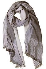 Scarf Men Silk Pashmina Modern Beige Soft Wrap Shawl Bandanna Long S