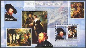 Congo 2006 Art Paintings Peter Paul Rubens S/S MNH**