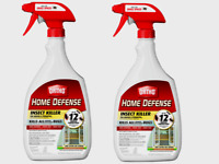2~ Ortho HOME DEFENSE INSECT Killer All Bugs Odorless In/Out 24 oz. 0221310