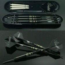 Professional Tungsten Darts Set, Steel Tip+Shaft+Flight+Barrel +Carry Case Games