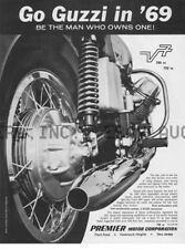 Moto Guzzi V7 700 - 750 Premier flyer 1969 advertisement  ca 8 x 10 print poster