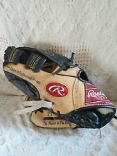 "Rawlings Baseball Glove  LHT PL15WB Player's Series  Leather 10.5""  Excellent"