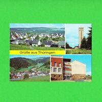 Ansichtskarte DDR Gruß aus Thüringen