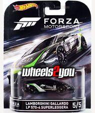 LAMBORGHINI GALLARDO - Forza Motorsport - 2016 Hot Wheels Retro Entertainment