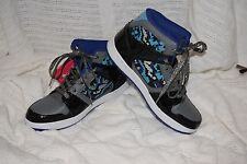 NEW Girl's Size 3.5 Cupcake Couture Black/Grey High Top Sports Athletic Shoes