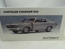 Autoart Milennium CHRYSLER Charger E49 Silver Silber 1 18 71506
