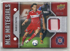 Marco Papa 2011 Upper Deck MLS Materials Premium Series Patch Jersey 50/50 Fire