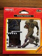 BARRY SANDERS 1997 CROWN PRO MAGNET (sealed) - DETROIT LIONS