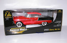 American Muscle Ertl Brigt Red Anodized Limited Chase 1955 Chevrolet 55 Chevy