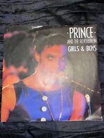 "Prince And The Revolution – Girls & Boys - 7"" Vinyl Record"