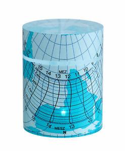 TFA 43.4000.06 SOLEMIO Zylinder-Sonnenuhr blau, FS-TFA