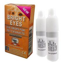 ETHOS Bright Eyes catarata colirio para Perros & Mascotas 1 Caja de 2 X 5 Ml Botellas