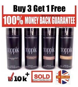 Toppik Hair Building Fibres 27.5g 🔥 BUY 3 GET 1 FREE 🔥~SATISFACTION GAURANTEE~
