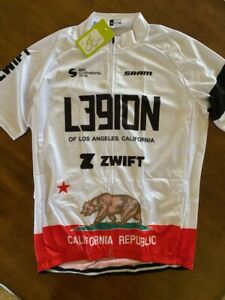 L39ION Cycling Team Jersey LARGE Legion of Los Angeles California Bear Zwift 🔥