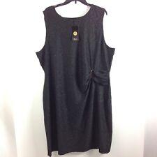 C9 Chicwe Womens Dress Size 22 Lightweight Stretch Stretch Shiny Sleeveless New