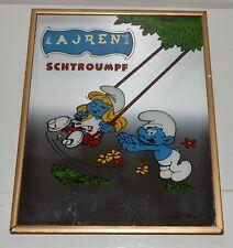 Miroir mirror Schtroumpf Smurf SChlumpf BELOKAPI MARKI 1983